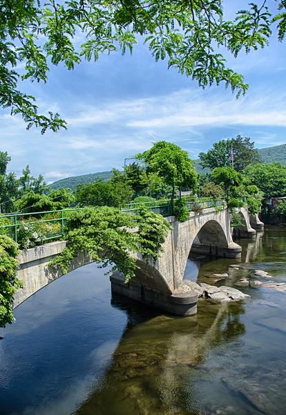 Bridge of Flowers - Shelburne Falls, MA