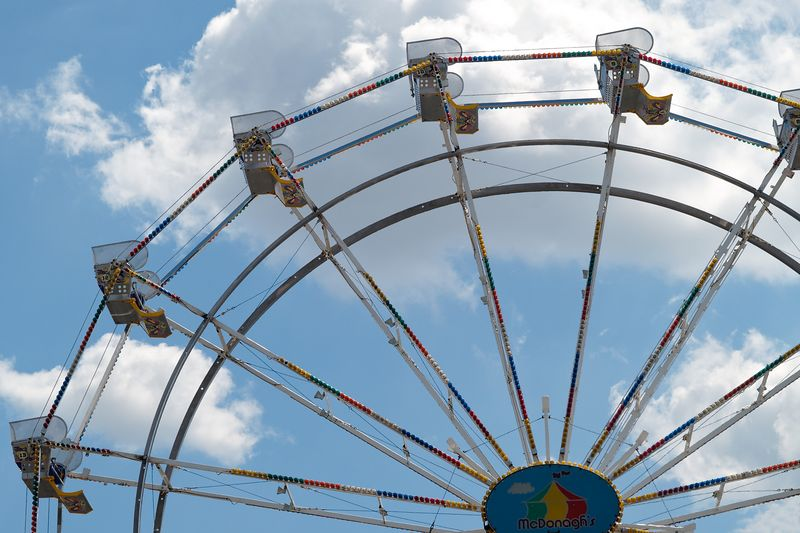 <font size=3>The week starts on Tuesday with the Carnival set up in the parking lot for downtown shoppers.  Every classic ride is there and kids of all ages have a great time.</font>
