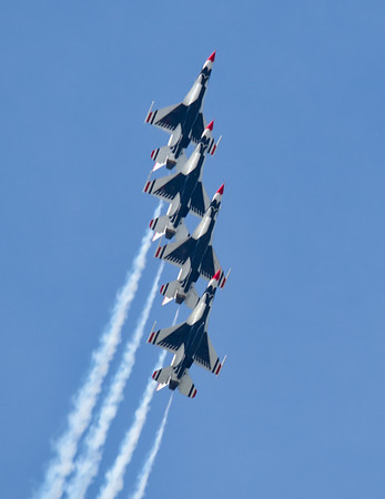 Thunderbirds from Burke Lakefront Airport