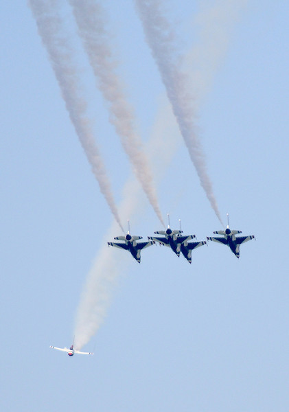 Air Show as viewed from Wendy Park