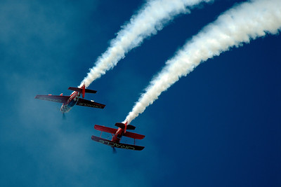Father and Son Stunt Pilots - Cleveland Air Show