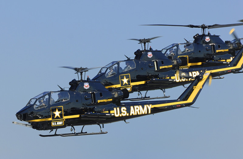 US Army Sky Soldiers - Cobra Helicopter - Cleveland Air Show