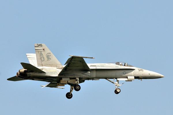 F/A 18 Hornet - Cleveland Air Show 2011