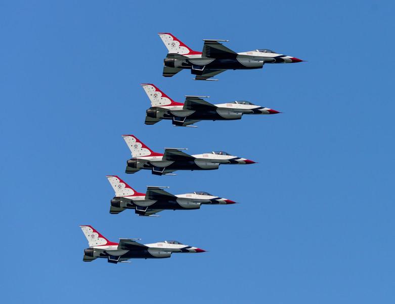 Thunderbirds From Wendy Park