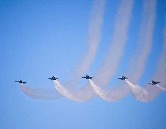 Air Show from Wendy Park