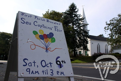 FIRST PARISH — sea captains' fair — Brewster, MA 10 . 6 - 2012