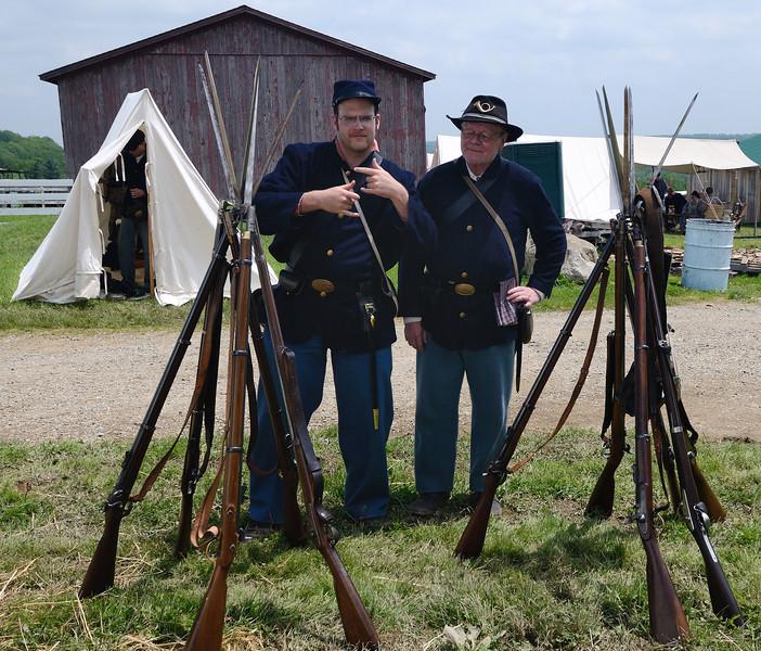 Civil War Re-enactment - Burton, Ohio