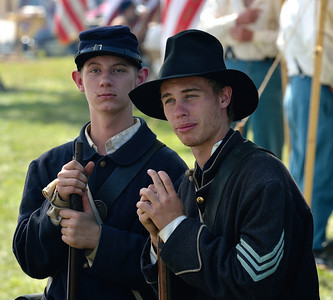 Young Union Soldiers