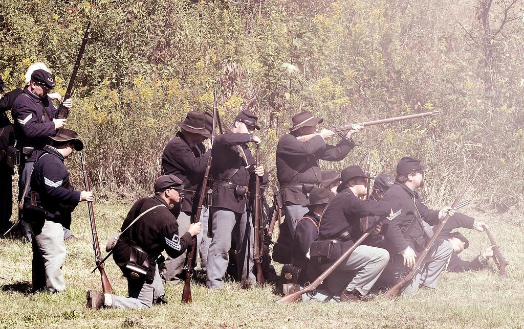 Zoar Civil War Reenactment