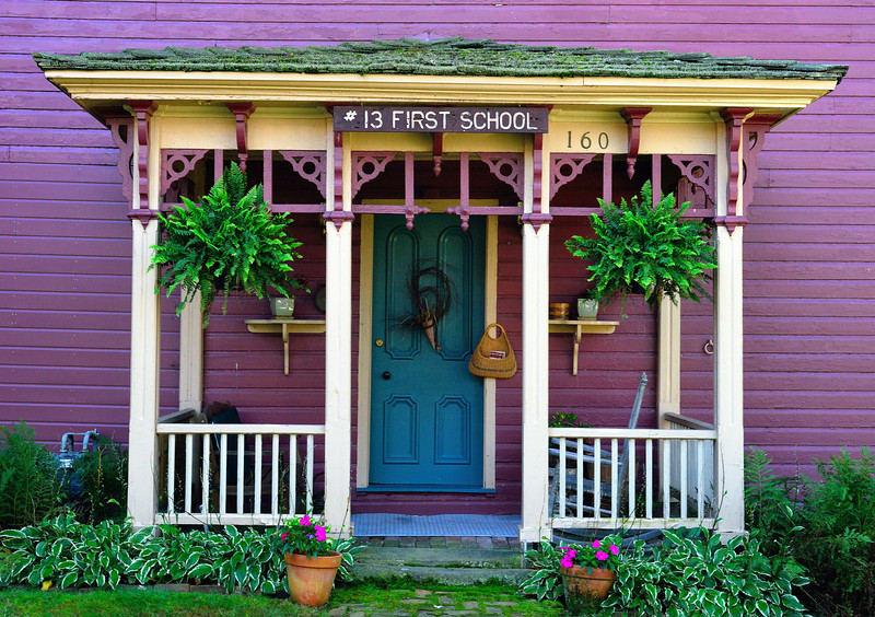 The First Schoolhouse in Zoar