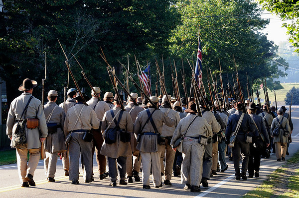 Soldiers Marching through Zoar