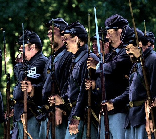 Zoar Civil War Reenactment  -  Nik Color Efex Saturation filter