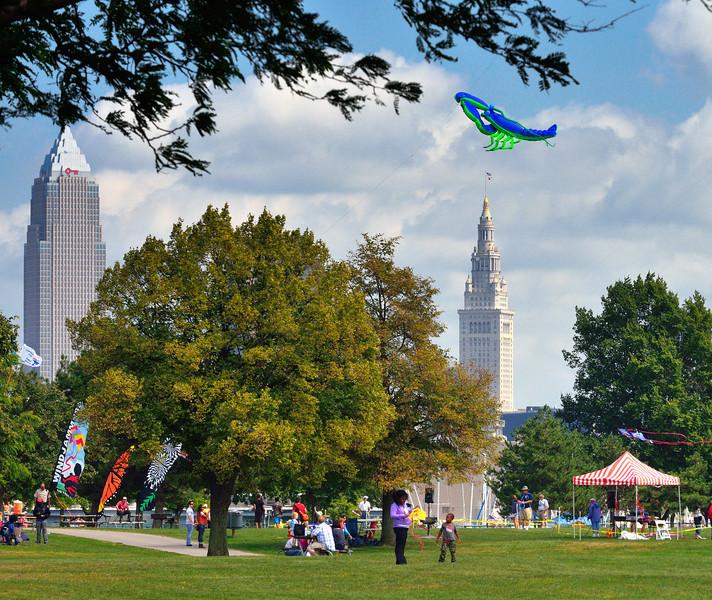 Kite Festival at Edgewater Park