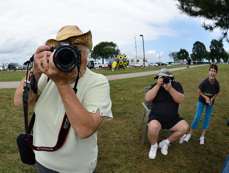 Photographers having fun at Edgewater