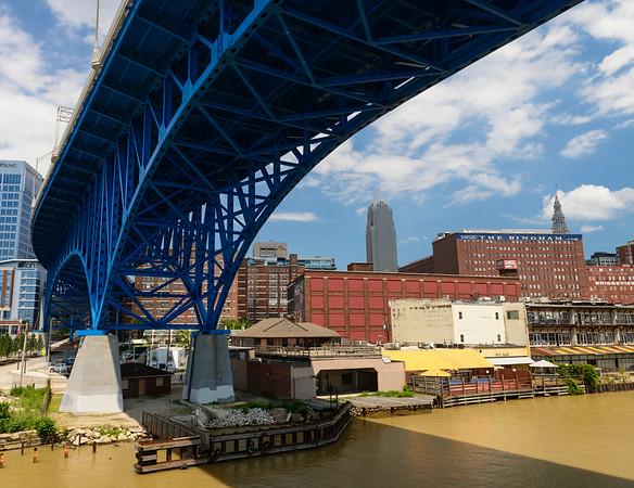 Main Ave. Bridge over the Cuyahoga River