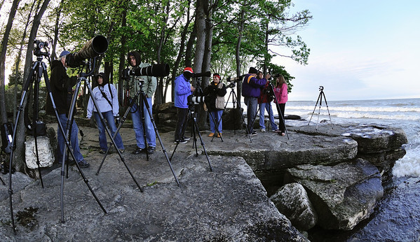 Photographers at Marblehead Lighthouse