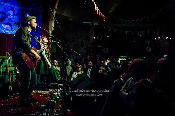 David Ford, Emily Grove, Jarrod Dickenson and Joe Haddow performing at Manchester Deaf Institute