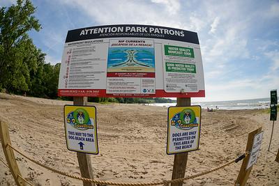 Dog Beach at Edgewater Park