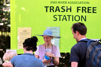 trash-free program began in 1992- recycling and composting- leads to a waste reduction of 94%