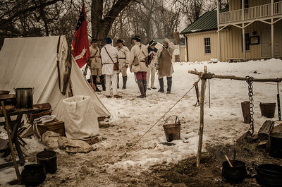 Reenactment Revolutionary War