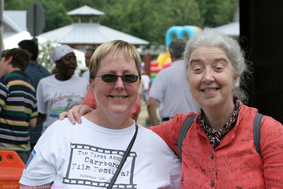 Jackie Helvey -- http://carrboro.com --  and Nerys Levy -- http://www.neryslevy.com   -- volunteers extraordinaire@!!