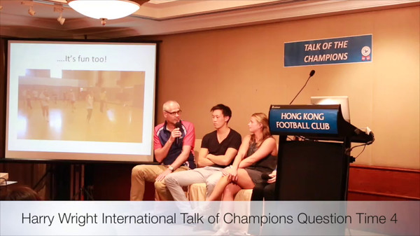Harry Wright International - Talk of Champions - Question Time 4