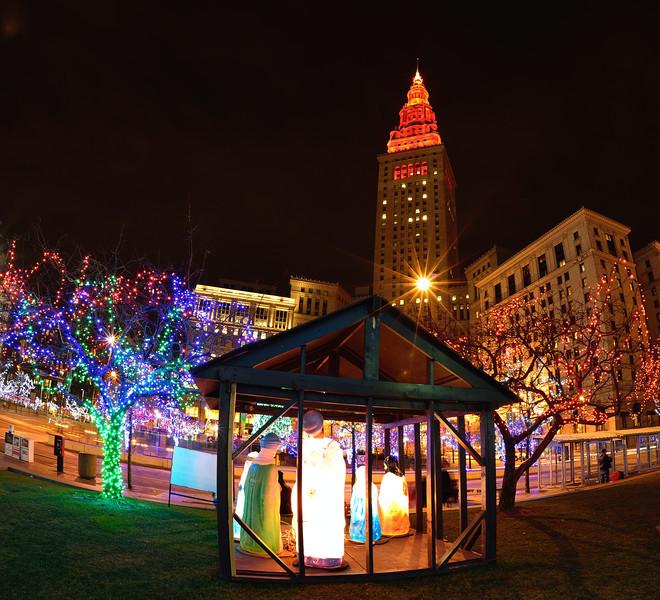 Star over the Manger - Cleveland Holiday Lights
