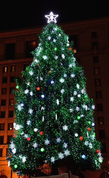 Cleveland Christmas Tree - Cleveland Holiday Lights