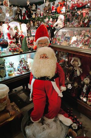 Santa Claus Display at the Clifton Mill