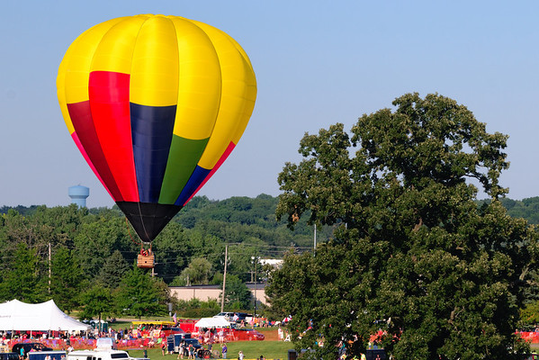 Up Up and Away - Balloon Classic Invitational 2011