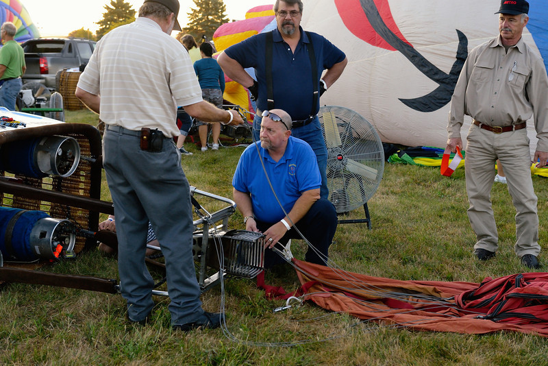 Rick Carlile on the Windstar Crew - Balloon Classic Invitational - Morning Launch