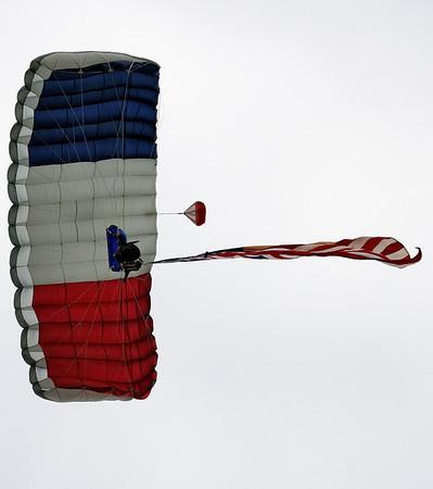 Balloon Classic Invitational - Skydiver
