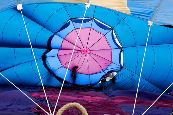 Peeking Into the Balloon