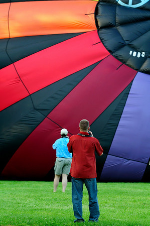 Troy at the Chagrin Falls Balloon Fest 2010