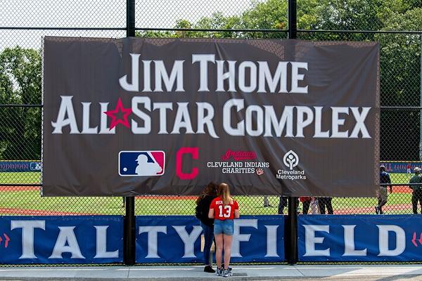 Dedication of the Jim Thome Baseball Complex