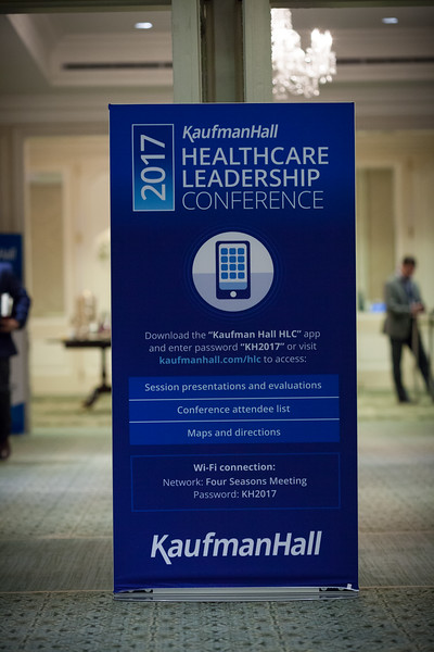 KaufmanHall Healthcare Leadership Con ference 2017