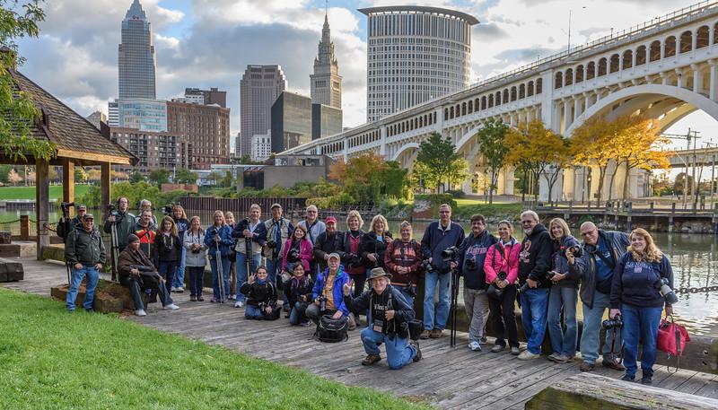 Kelby Worldwide PhotoWalk in Cleveland's Flats 2014