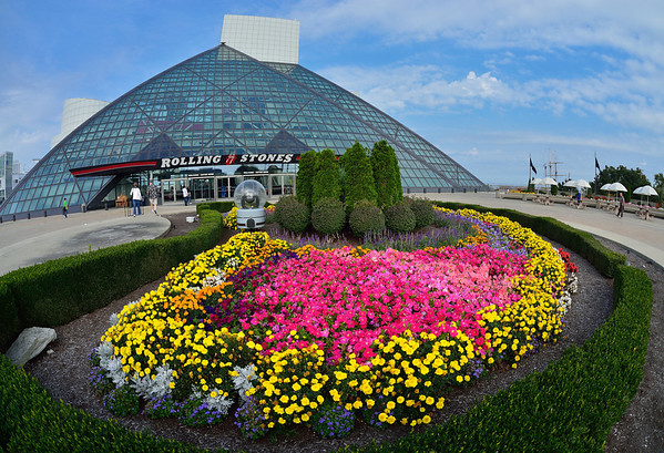 Fisheyed Rock Hall