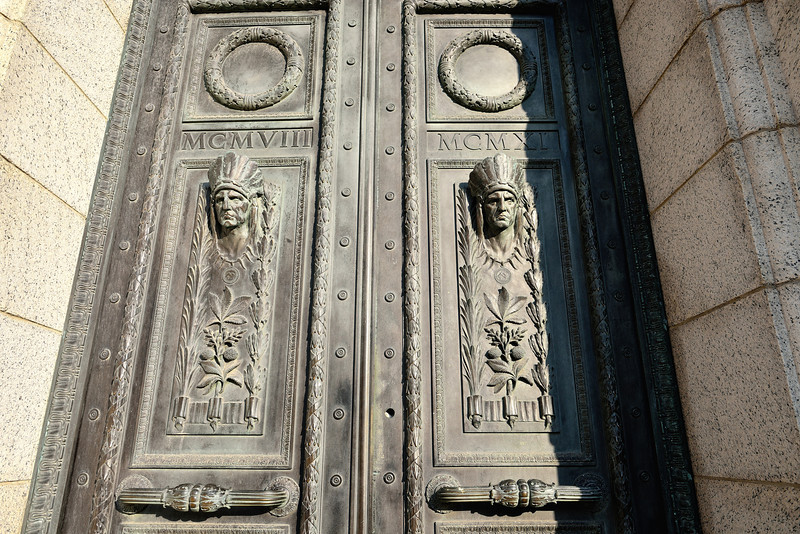 The Door to Cleveland City Hall