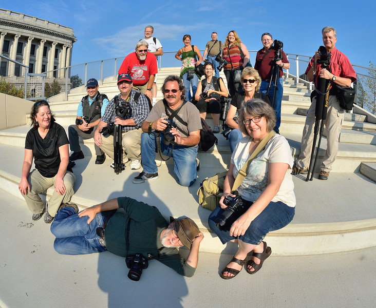 Kelby Photo Walk 2013 - Downtown Cleveland Group Photo