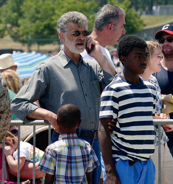 Cleveland Mayor Frank Jackson - Marine Week