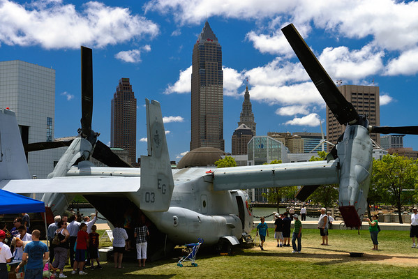 Marine Week in Cleveland, Ohio
