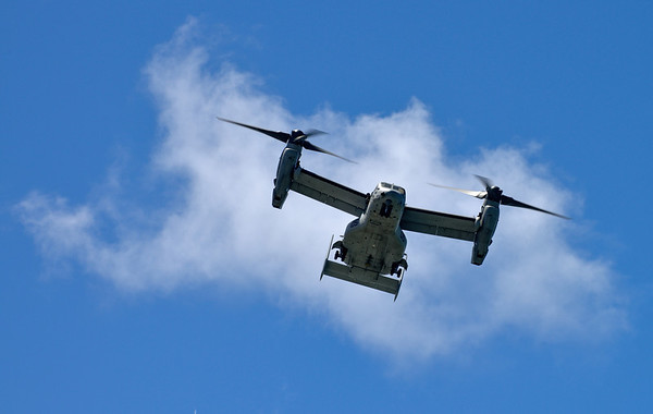 Osprey - Marine Week in Cleveland, Ohio