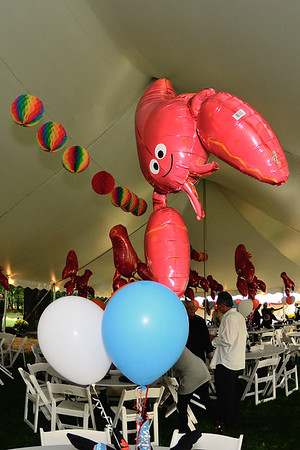 Lobster Decorations at the Clambake