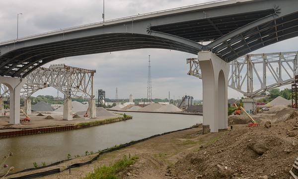 The new Inner Belt Bridges