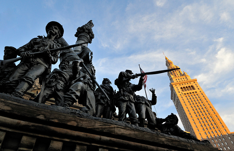 Cleveland's Star Spangled Spectacular - Soldiers and Sailors Monument
