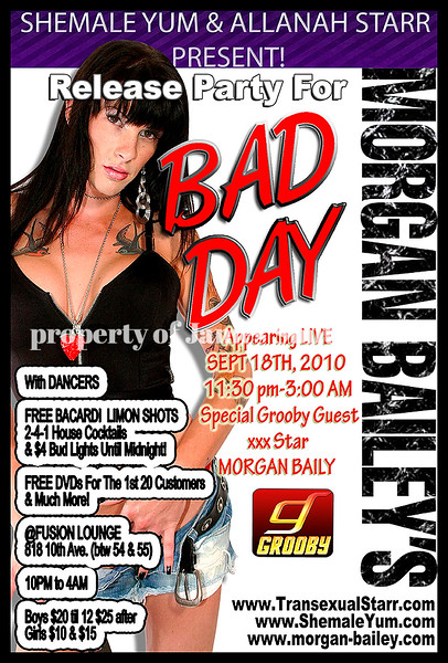 morgan baily day off party