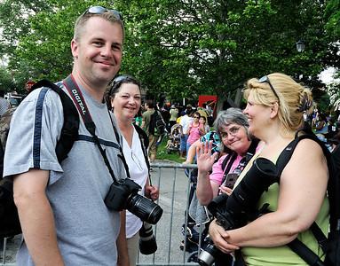 Photographers at Parade the Circle
