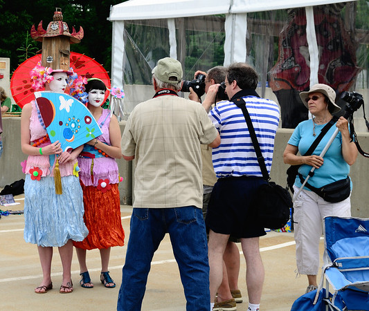 CPS Photographers in Action - Parade The Circle