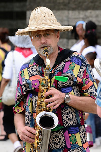 Sax Player - Parade The Circle